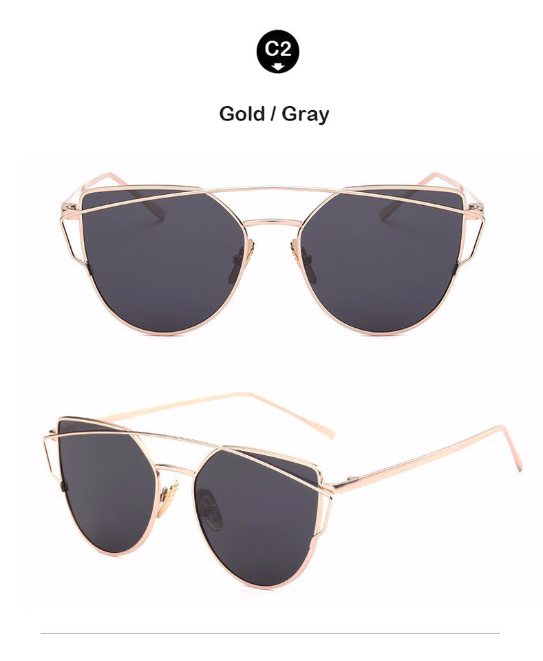 CAT'S EYE SUNGLASSES