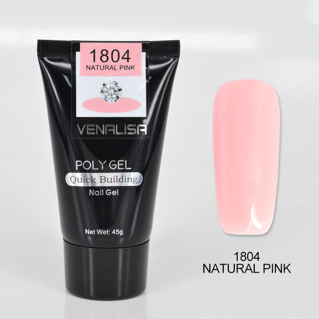 Poly Nail Gel | Power UV Nail Gel 1804 natural pink