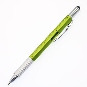 HANDY PEN - MULTI-PURPOSE BALLPOINT PEN 7-in-1 PEN Black / Green