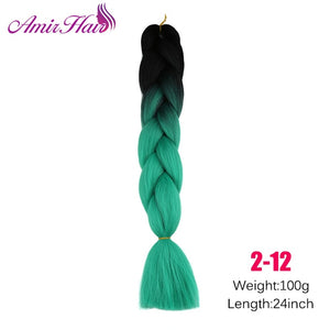 Ombre Jumbo Braid Extensions #144 / 24inches