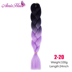 Ombre Jumbo Braid Extensions P12/613 / 24inches