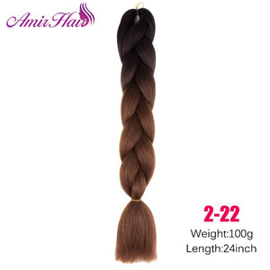 Ombre Jumbo Braid Extensions P18/613 / 24inches