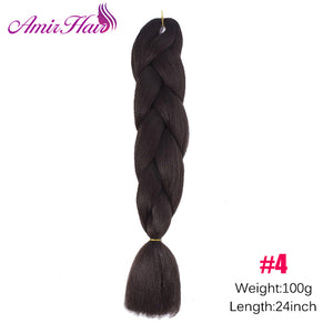 Ombre Jumbo Braid Extensions P8/613 / 24inches