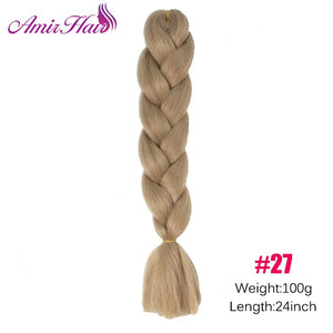 Ombre Jumbo Braid Extensions P16/613 / 24inches