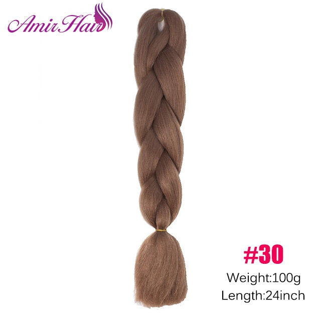 Ombre Jumbo Braid Extensions P27/613 / 24inches