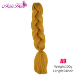 Ombre Jumbo Braid Extensions #118 / 24inches