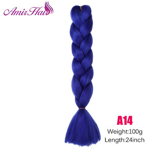 Ombre Jumbo Braid Extensions T#27/613 / 24inches