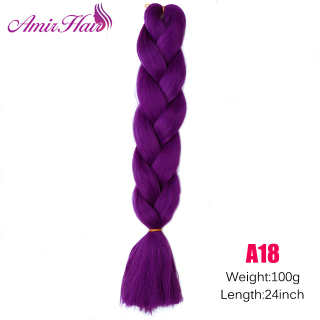 Ombre Jumbo Braid Extensions M#33 / 24inches