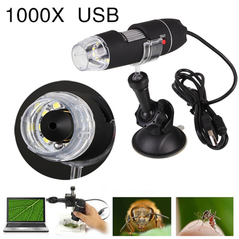 1000X Zoom USB Microscope Camera