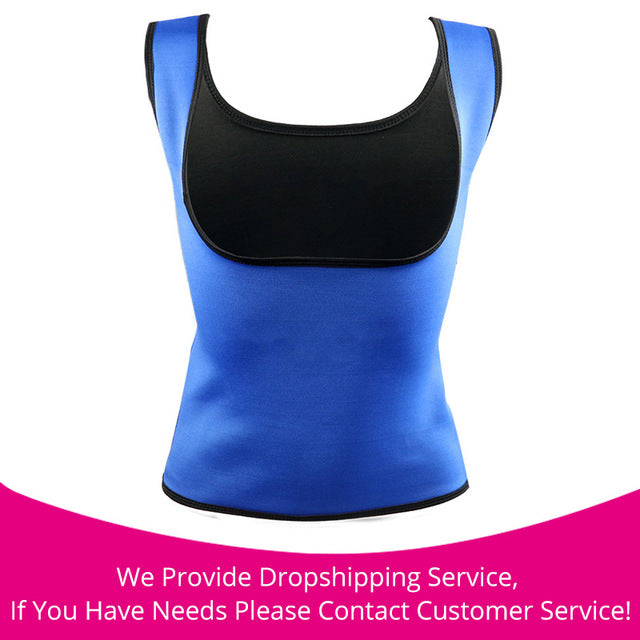 Hot Body Slimming Shaper Waist Cincher Blue / S / China