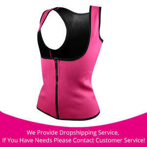 Hot Body Slimming Shaper Waist Cincher rose zipper / S / China