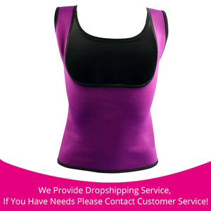 Hot Body Slimming Shaper Waist Cincher Purple / S / China