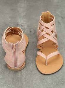 Summer Women's Sandals Casual Shoes pink / 4