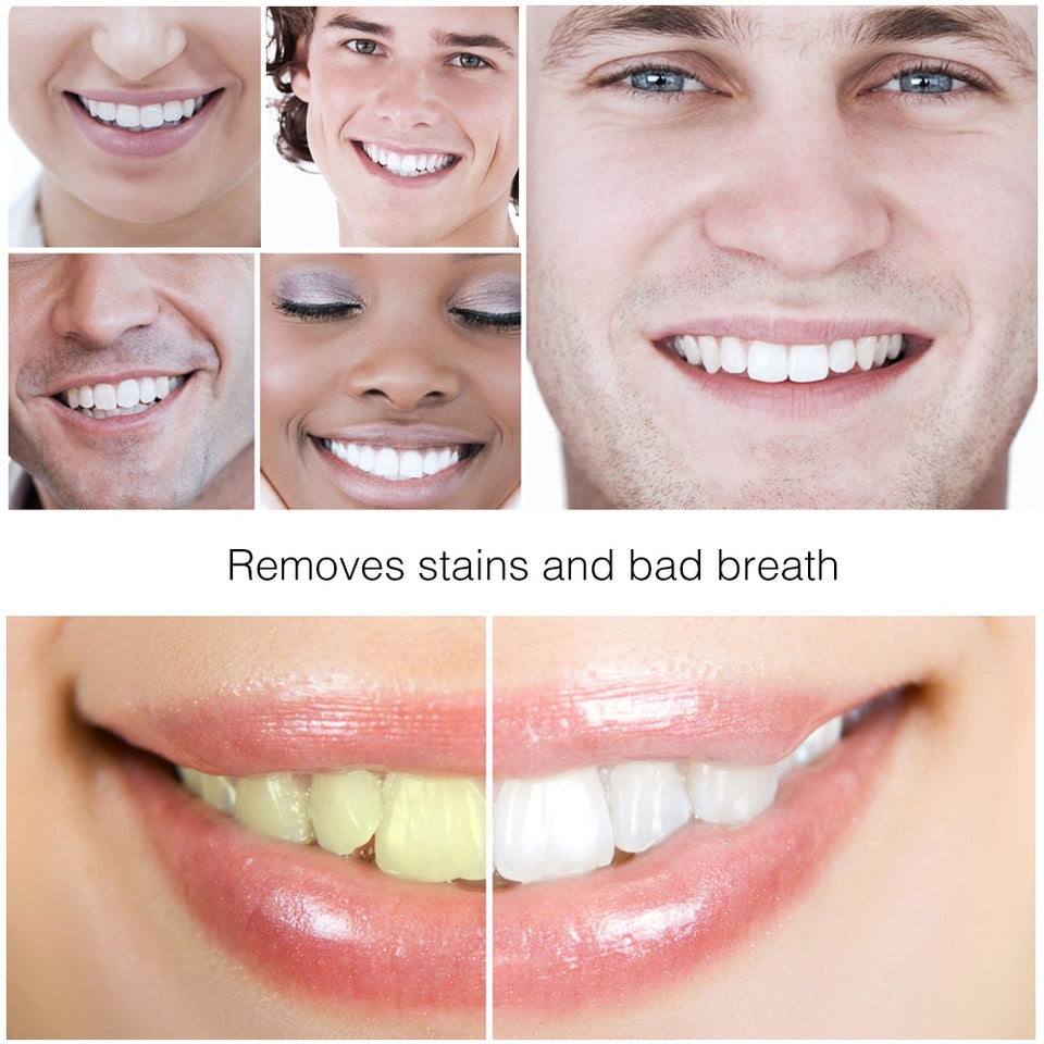 Bamboo Natural Activated Charcoal Teeth Whitening Toothpaste