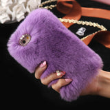 Furry iPhone Case (6, 6s) Light Purple / For iPhone 6 6s