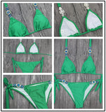 Diamond Bikini wo-pieces Swimsuit Women Bikini Set