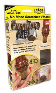 Furniture Feet Protector Pads - 8 Pack Default Title