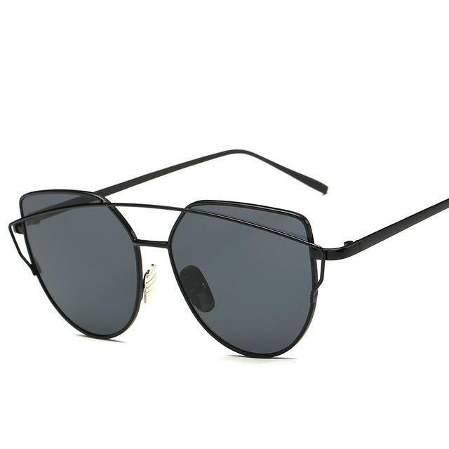 CAT'S EYE SUNGLASSES blackblack