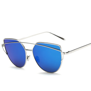 CAT'S EYE SUNGLASSES sliver
