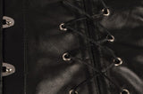 Leather Steampunk Gothic Corset