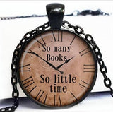 Quote necklace watch pendant 1