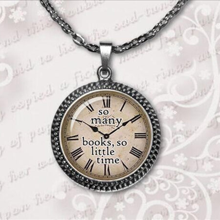 Quote necklace watch pendant 2