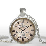 Quote necklace watch pendant 3