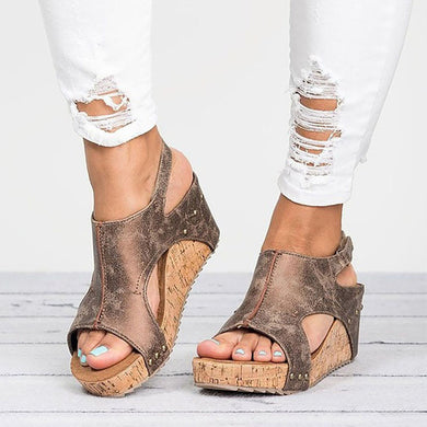Women Platform Sandals Wedges Shoes