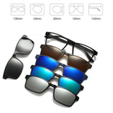 5 in 1 Magnetic Lens Swappable Sunglasses D