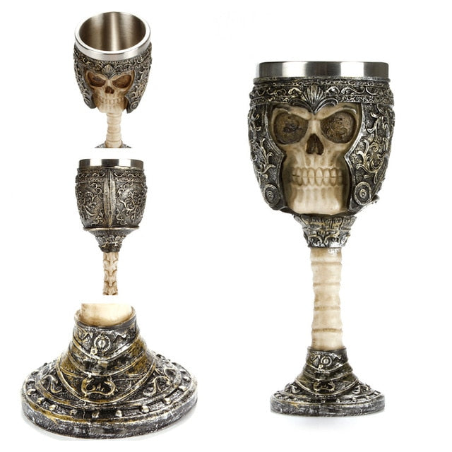 Retro Skull Goblet Hell Knight