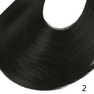 Synthetic ponytail hair extensions Off Black / 24inches