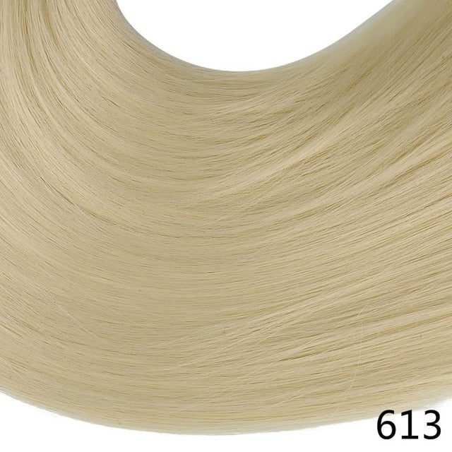 Synthetic ponytail hair extensions Beach Blonde / 24inches