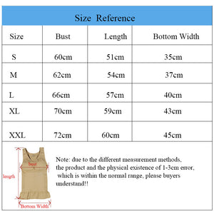 Plus Size Bra Tank Top Body Shaper Slimming Vest Corset with Removable Pads