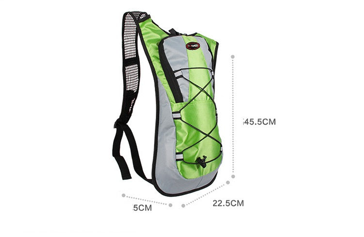 Camping hydration back pack