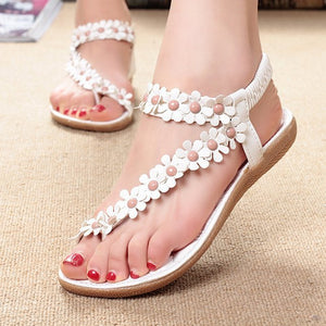 Women Bling Summer Sandals White 1 / 5