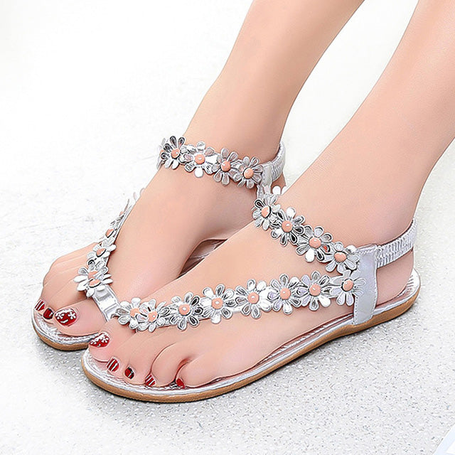 Women Bling Summer Sandals Sliver / 5