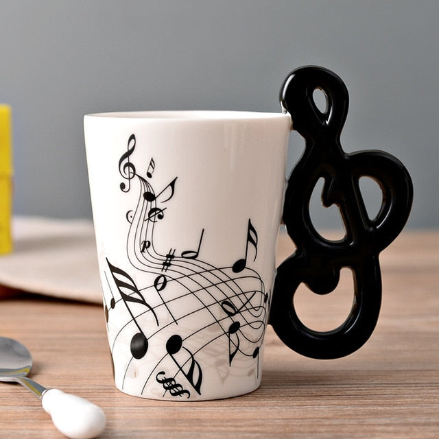 Musician Mug Light Grey
