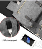 USB Charger Laptop Diaper Bag