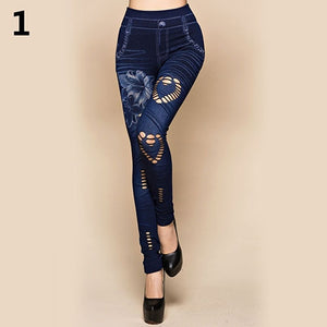 Women's Sexy Hollow Cut Pants 1 / One Size