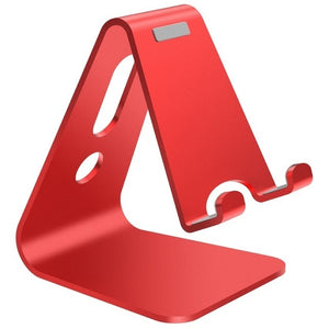 MOBILE PHONE ALUMINUM ALLOY STAND red