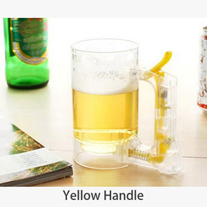 Self Foaming Beer Mug