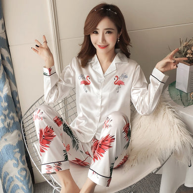 Silk Winter Pajamas