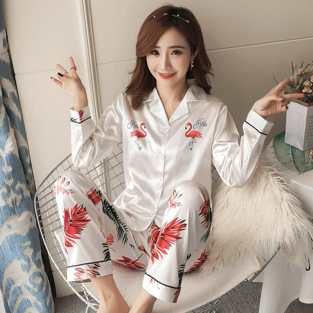 Silk Winter Pajamas C Q 359 / M