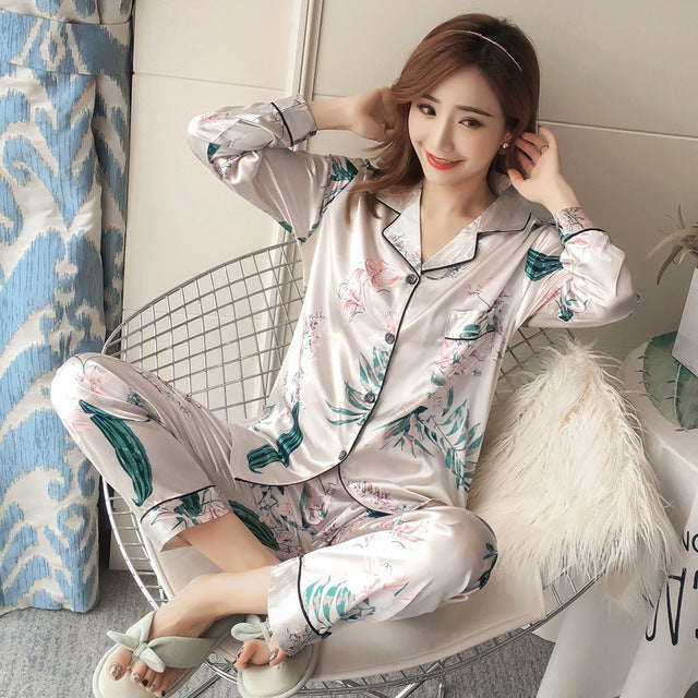 Silk Winter Pajamas C Q 365 / M