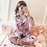 Silk Winter Pajamas C Q 369 fen / M