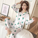 Silk Winter Pajamas C Q 362 bai / M