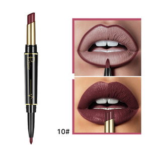 Double ended long lasting lipstick 10
