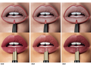 Double ended long lasting lipstick