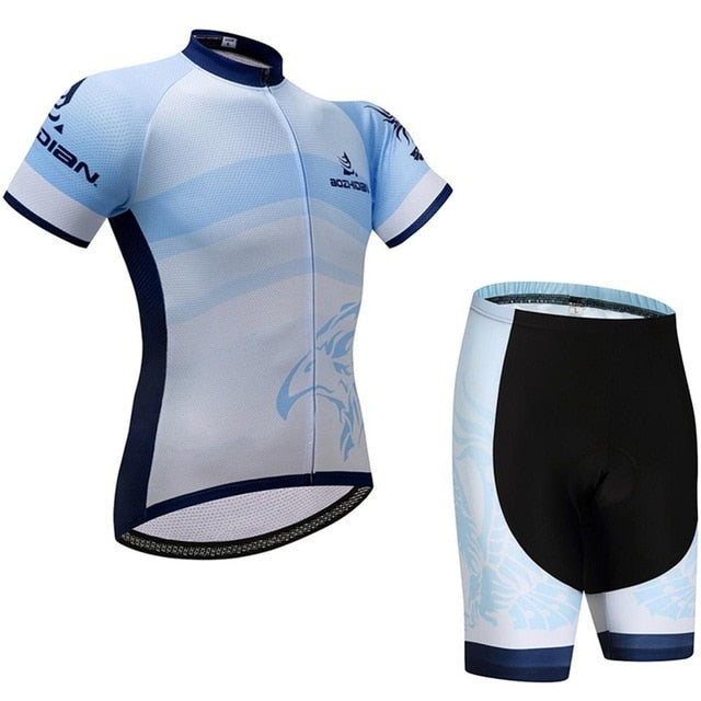 Ladies Cycling Clothing Sets Brown / XXL