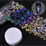 Holographic Foil Nail Art Decals JQ297
